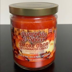 Pumpkin & Spice Smoke Odor Candle LIMITED EDITION